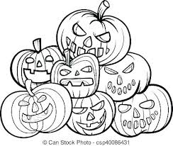 pumpkins coloring pages pumpkin patch page book also five little full size