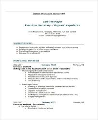 20 Printable Executive Resume Templates Pdf Doc Free Premium