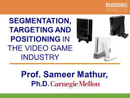 Segmentation And Targeting In The Video Game Console