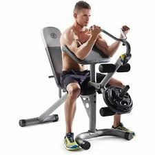 Xrs 20 Exercise Chart Details About Golds Gym Xrs 20 Olympic Workout Bench With Removable Preacher Pad