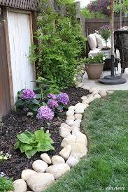 edging stones to make your garden
