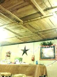 unfinished basement lighting ideas. Lighting For Unfinished Basement Ceiling Ideas  Tile Suspended Decorative Drop