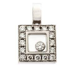 chopard happy diamond 18k white gold