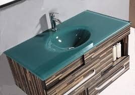 awesome bathroom vanity with tempered glass vanity top from legion furniture and glass sinks for bathrooms