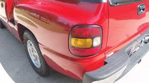 HD VIDEO 2000 CHEVROLET SILVERADO SPORTSIDE REGULAR CAB RED FOR ...