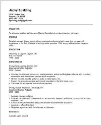 Insurance Claim Adjuster A Href Http Resume Tcdhalls Com Resume