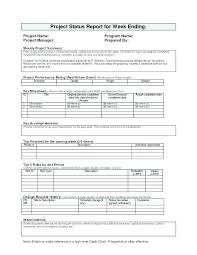 Financial Report Template Unique Weekly Financial Report Template Thalmusco