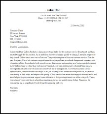 Cover Letter Leadership Example Professional Team Leader Cover