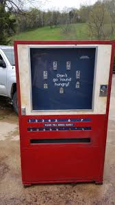 Drink O Matic Personal Vending Machine Cool VINTAGE LANCE SNACK VENDING MACHINE FAYETTEVILLE TENNESSEE TN