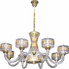 Decoration 2 Crystal Gold Crazy Chandeliers Youll Love