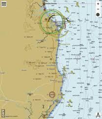 Coral Sea Richmond River To Point Danger Marine Chart