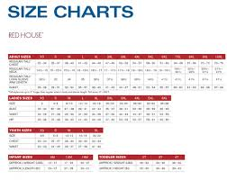 Size Chart Port Company Port Authority Sport Tek Red
