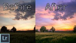 Lightroom 6 cc Tutorial - Create AMAZING Sunsets In Depth ...