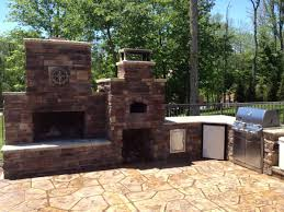 outdoorfireplace outdoorliving fireplace diy outdoorcooking masonry outdoor backyardflare