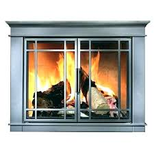 fireplace doors cover glass pleasant hearth review stylish decoratio