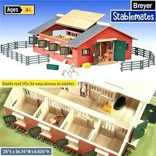 breyer horse stable best toys for kids toy set ideas barn tour 2017