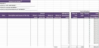 Truck Driver Log Book Excel Template Log Template Pinterest For