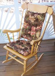 breathtaking brown base floral cracker barrel rocking chair cushions for pretty your indoor or outdoor home rocking chair furniture design rocking chair cushions nursery rocker cushion