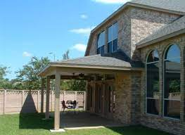 3 styles of patio covers houston homes