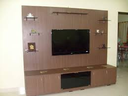 Small Picture Beautiful Dark Brown Wood Glass Modern Design Wall Unit Lcd Mount