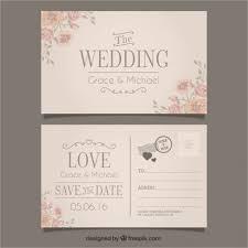 20 Wedding Postcard Templates Free Sample Example Format