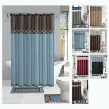bathroom curtains kitchen of modern house inspirational sets ideas fabric shower curtain
