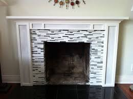 Best 20 Glass Tile Fireplace Ideas On Pinterest Beach Bathrooms with  Stylish Fireplace Tile Ideas