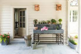 potting table with sink farmhouse style potting sink for those who thing benches isnt that functional potting table