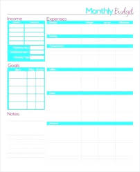 Budgeting Spreadsheet Free Calculate Monthly Expenses Spreadsheet Monthly Budget Spreadsheet