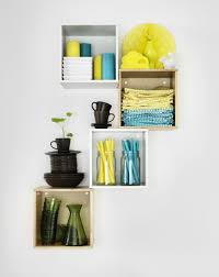 When floor space is limited, use the walls! With their easy-to-