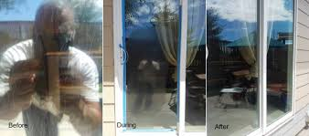 residential scratched glass repair