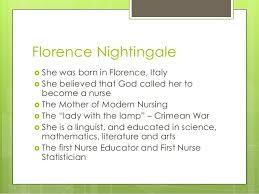 environmental theory florence nightingale