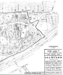 downtown stamford urban renewal maps  section