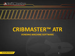 Cribmaster Vending Machine Inspiration Cribmaster™ ATR Vending Machine Software Ppt Video Online Download