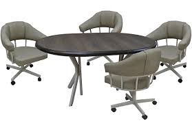 m90caster 42x42x60woodrichi jpg m 90 caster chairs 42x42x60 table