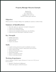 Property Assistant Sample Resume Gorgeous Property Management Resume Samples Property Manager Resume Sample
