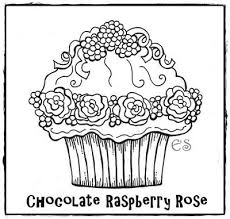 Small Picture 138 best Cupcake colouring images on Pinterest Drawings