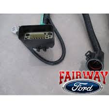 05 thru 07 f 150 oem genuine ford 7 pin trailer tow wiring harness click here to enlarge