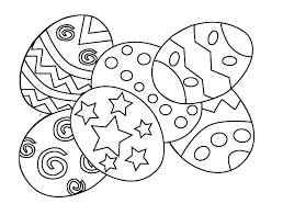 Easter Egg Coloring Pages Printable Free Desire Page Ubuya Nice