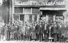 barber alonzo herndon founded the atlanta life insurance company in 1905 this photo shows the