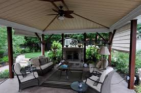 covered patio small gas fireplace outdoor fireplace renaissance landscape group inc puslinch on