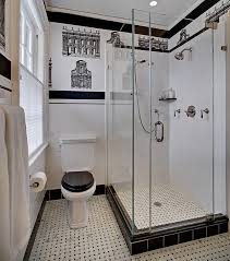 Black And White Bathroom Designs Awesome Decorating Design