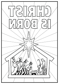 Nativity Coloring Sheets Autoinsurancegusinfo