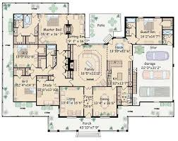 Large One Story House Plans  Google Search  Home Plans Large House Plans