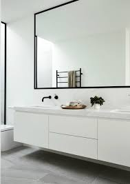 bathroom mirrors.  mirrors big bathroom mirror trend in real interiors on mirrors