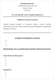 Sample Of Resume For Students College Resume Templates Free Samples ...