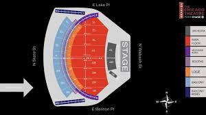 The Chicago Theatre Seat Map Msg Official Site With Chicago
