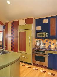 blue kitchen backsplash dark cabinets. Small Colourful Kitchen Decoration Using Orange Blue Tile Including Cabinet Door Navy Backsplash Dark Subway B . Cabinets