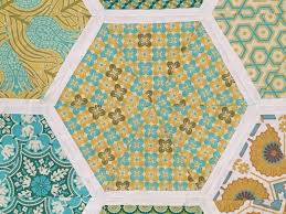 Hexagon Teacher Quilt (160) | Squares and Triangles & Hexagon quilts are not fun in the cutting, but the sewing I find rather  enjoyable. This ended up being a nice large twin sized quilt, perfect for  my son's ... Adamdwight.com