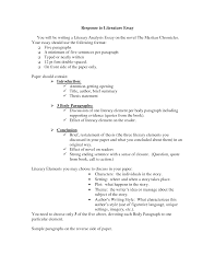 write critical analysis essay response to literature character example of critical analysis essay